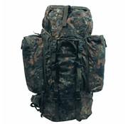 MFH Outdoor Rugzak 'Alpin110' vlekcamouflage 2 afneembare Seitentaschen