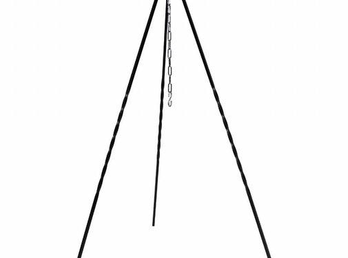 MFH Hongaarse driepoot hoogte 1 m ijzer met ketting en haken