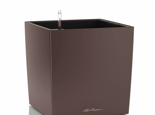 Lechuza Lechuza - Cube Premium 40 Espresso ALL-IN-ONE