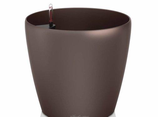 Lechuza Lechuza - plantenbak CLASSICO PREMIUM 60 espresso metallic ALL-IN-ONE set