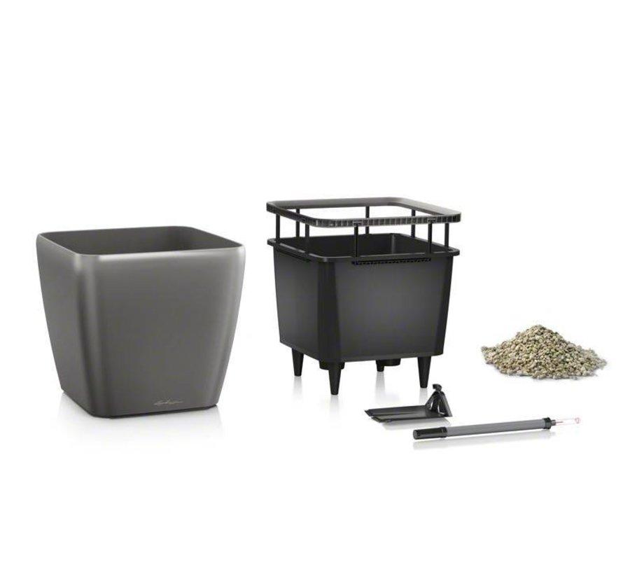 Lechuza -  Quadro Premium 35 LS Antraciet metallic ALL-IN-ONE