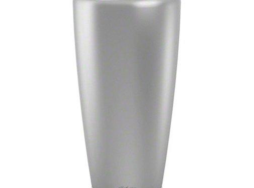 Lechuza Lechuza - plantenbak RONDO PREMIUM 32 zilver metallic ALL-IN-ONE set
