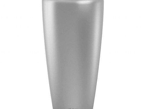 Lechuza Lechuza – plantenbak RONDO PREMIUM 40 zilver metallic ALL-IN-ONE set