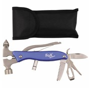 """Fox Outdoor Fox Outdoor - Pocket Tool  -  """"Worker""""  -  Blauwe  -  Metalen"""