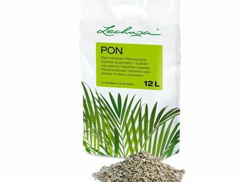 Lechuza Lechuza -  LECHUZA-PON 12 liter -  Hoogwaardig, mineraal plantensubstraat