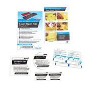 No Label Super - Reparatur - Klebeband - Kit - Repair - tape - Patch - kit - 7-Teilig