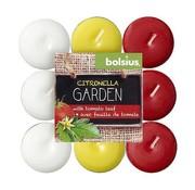 Bolsius Bolsius - Kerze - Teelichter - Citronella/Tomatenblättern - 30 - Stunde