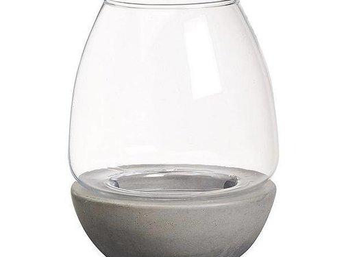 Bolsius Bolsius - Teelichthalter - Outdoor - Grau