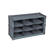 Bo-Camp Bo-Camp - Kast/organizer - 9-Vaks - Multifunctioneel - 84x30x51 cm