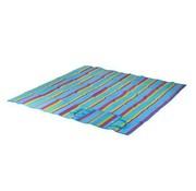 Bo-Camp Bo-Camp - Strandmat - Blauw - 180x180 cm