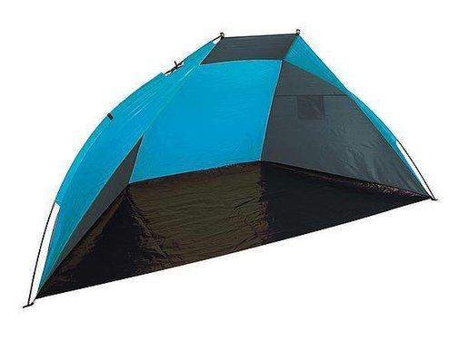 Bo-Camp Bo-Camp - Windschelp - 2,4x1,2x1,2 Meter - Grijs/Blauw