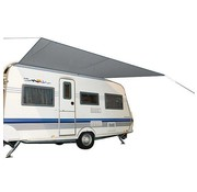 Bo-Camp Bo-Camp Caravanluifel - Travel - M - 3,5x2,4 Meter -  Grijs