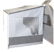 Bo-Camp Bo-Camp - Zijwand voor luifel - Universeel - 2,50 Meter - Licht grijs