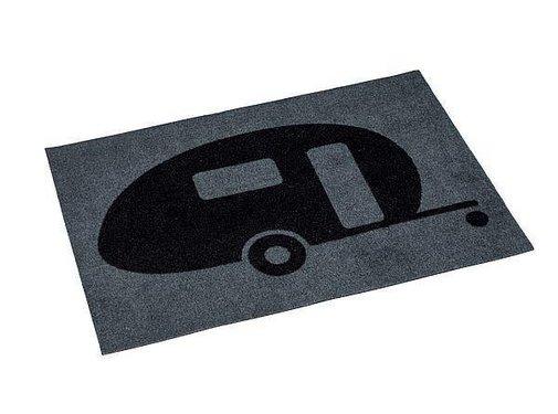 No Label Deurmat - Kunstvezel - 60x40 cm - Print - Caravan
