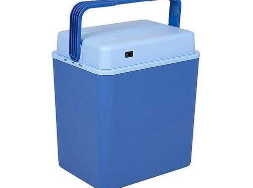 No Label Elektrische koelbox - Arctic - 30 liter - Blauw - 12/230 volt