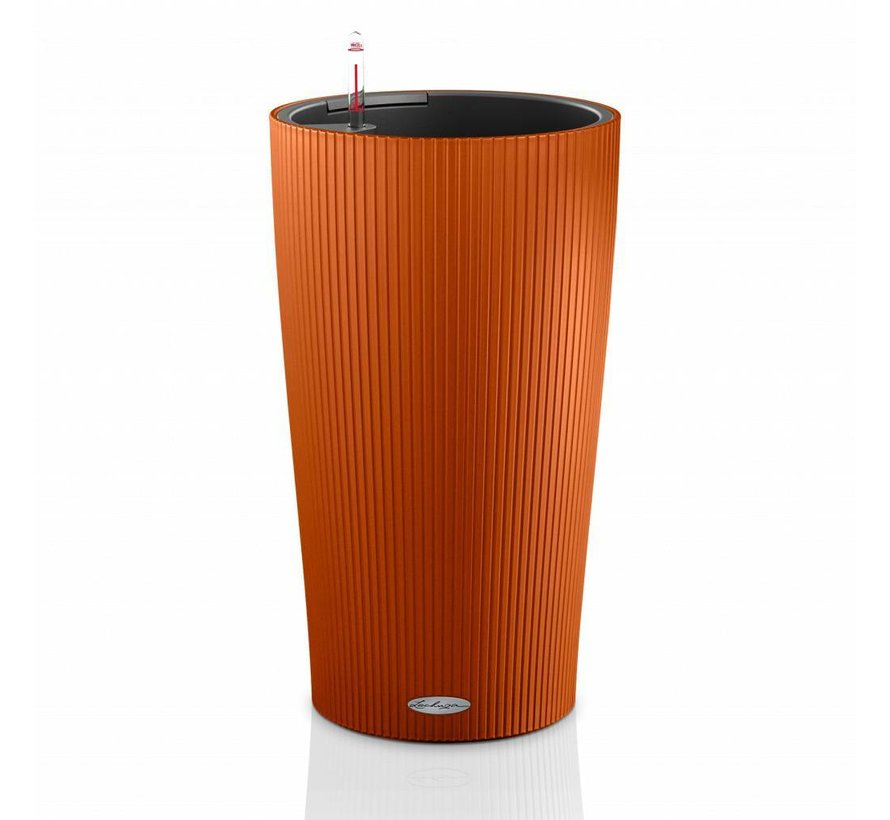 Lechuza - CILINDRO Color 23 Sunset orange  ALL-IN-ONE