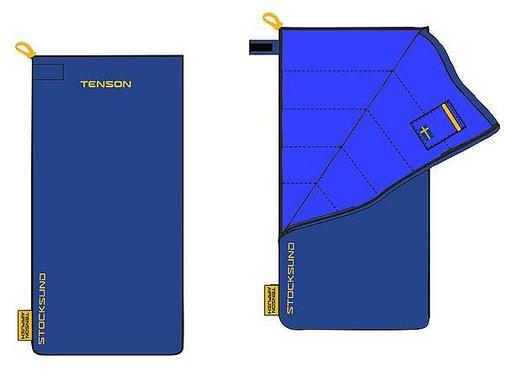 Tenson Tenson - Schlafsack - Stocksund - 210x80 cm - Baumwolle - Blau