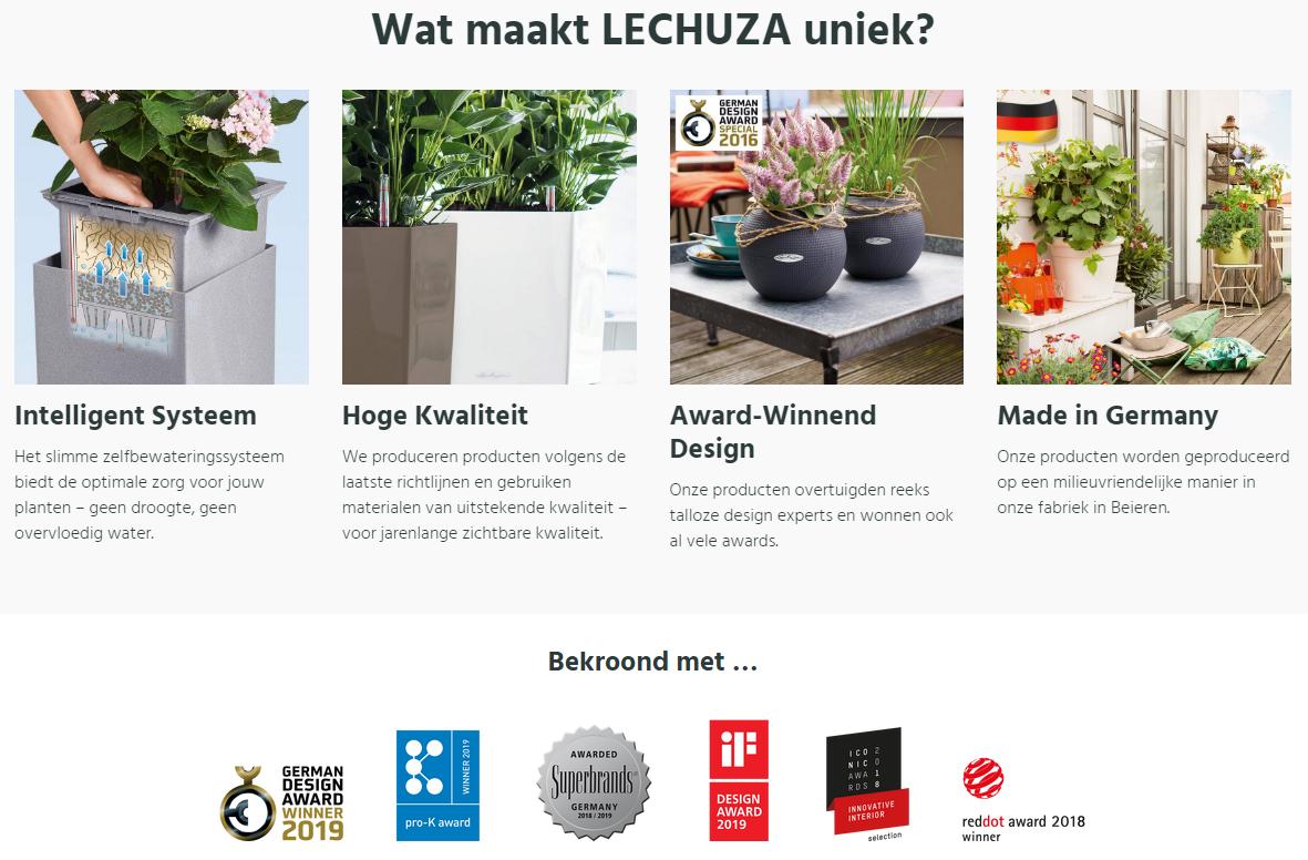 Lechuza - uniek bij OutdoorClick