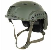 MFH Outdoor US Helm FAST-parachute hunter olijf/legergroen Rails ABS-Kunststoff