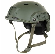 MFH US Helm FAST-parachute hunter olijf/legergroen Rails ABS-Kunststoff