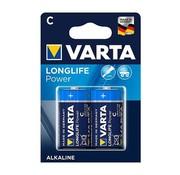 Varta Varta - Batterijen - Engelse staaf C - High Energy Alkaline - 2 Stuks