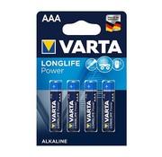 Varta Varta - Batterijen - AAA Micro - High Energy Alkaline - 4 Stuks