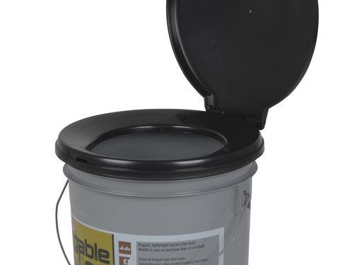 Reliance Reliance - Toiletemmer - Luggable Loo - 19 Liter - Zwart/Grijs
