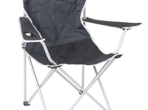 Camp Gear Camp-Gear - Stoel - Opvouwbaar - Compact - Zwart