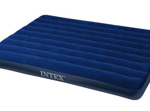 Intex Intex - Luchtbed - Downy Queen - 2-Persoons - 203x152x22 cm
