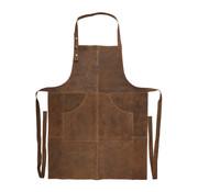CampingMeister Barbecueschort - leer - Bruin