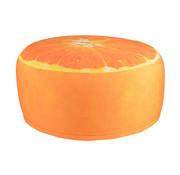 CampingMeister Gartenhocker - Aufblasbar - Wasserabweisend - Orange