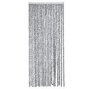 Arisol Arisol - Fliegenvorhang - 'Katzenschwanz' - 220x90 Cm - Grau/Anthrazit/Weiß