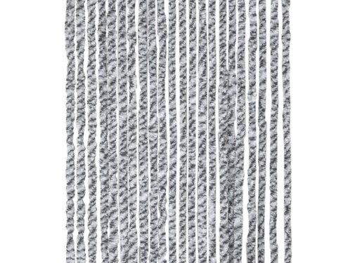Arisol Arisol - Vliegengordijn - 'kattenstaart' - 220x90 Cm - Grijs/Antraciet/Wit