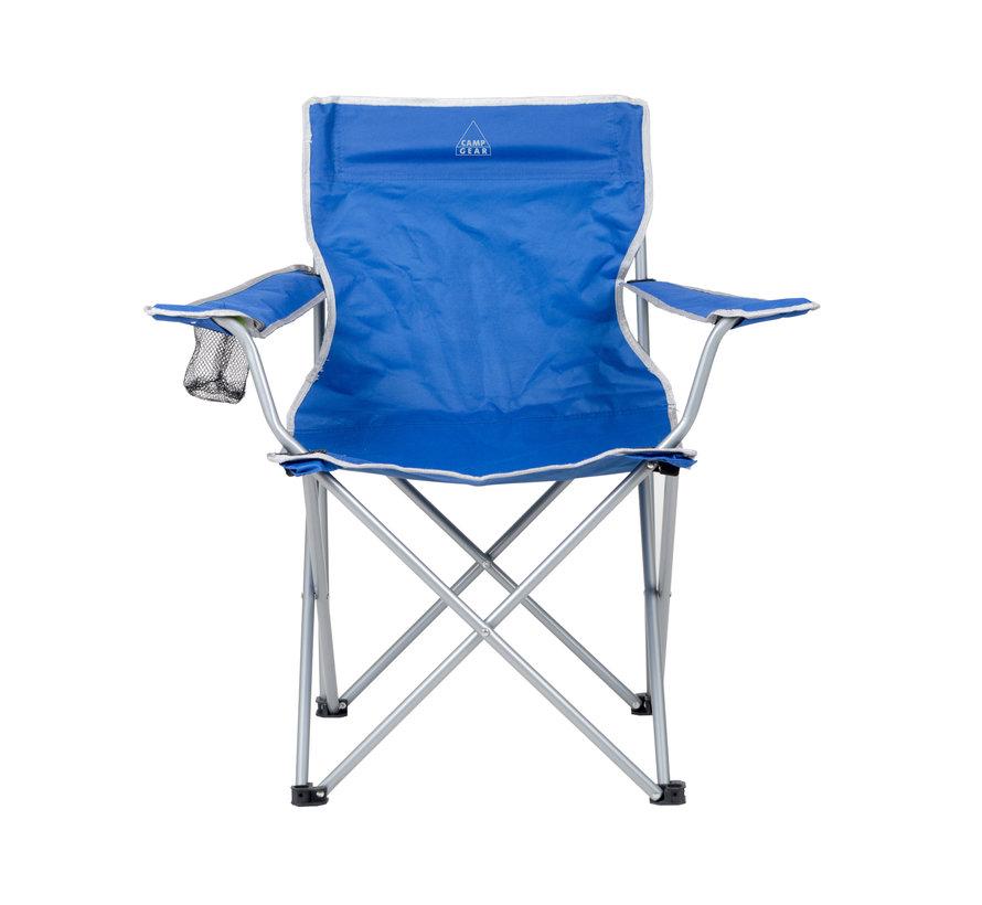 Camp-Gear - Stoel - Opvouwbaar - Compact - Blauw
