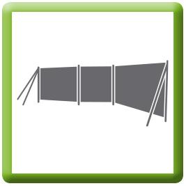 Camping Tuin Terras Windschermen - CLICK HERE!