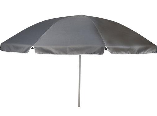 Bo-Camp Bo-Camp - Parasol - Met Knikarm - Ø 250 cm - Grijs