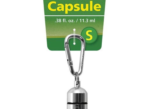 Coghlan's Coghlan's - Aluminium Capsule - Wasserdicht - S - Zilver