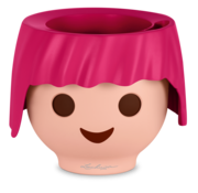 Lechuza Lechuza - Playmobil - OJO ruby pink  ALL-IN-ONE