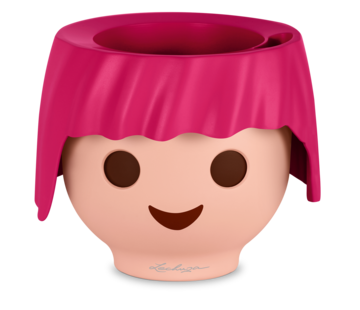 Lechuza Lechuza - Playmobil - OJO robijn-roze ALL-IN-ONE