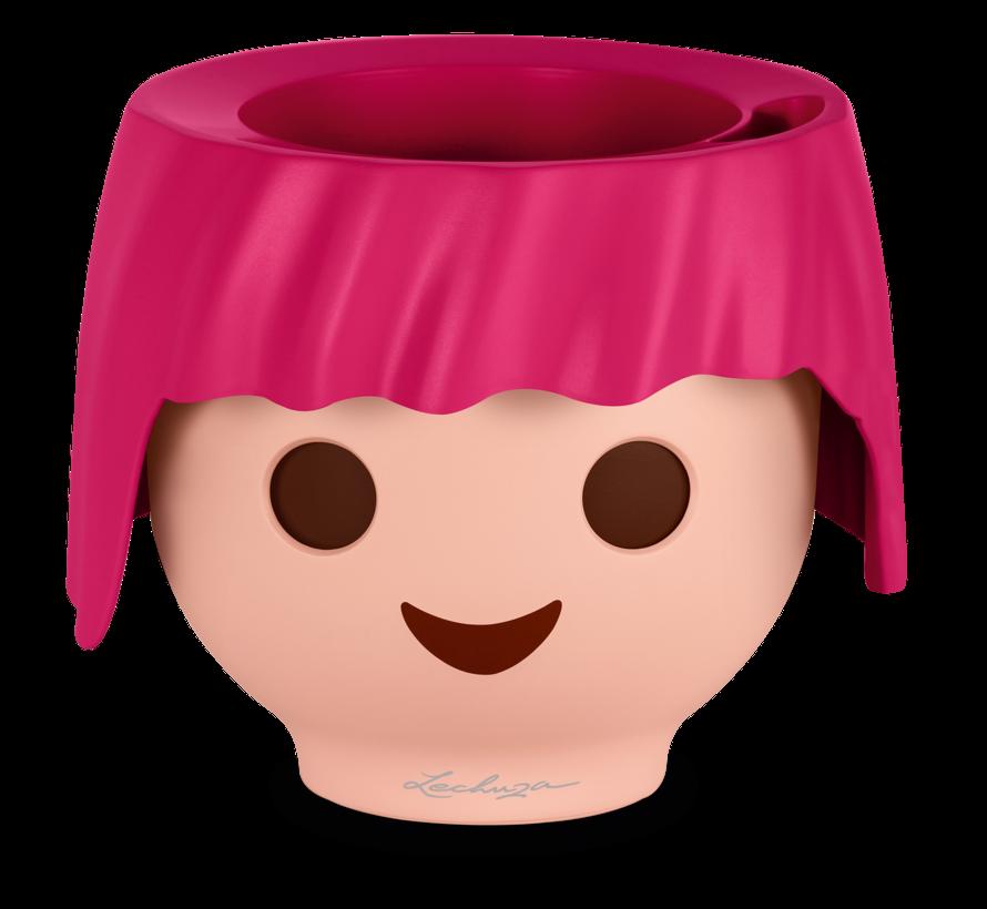 Lechuza - Playmobil - OJO robijn-roze ALL-IN-ONE