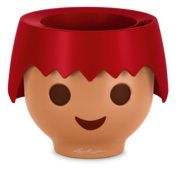 Lechuza Lechuza - Playmobil - OJO fire red ALL-IN-ONE