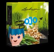 Lechuza Lechuza - Playmobil - OJO - Plantset met organisch tarwegraszaad voor OJO educatieve bloempot