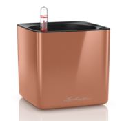 Lechuza Lechuza - CUBE GLOSSY 14 spicy copper highgloss ALL-IN-ONE - WINTEREDITION -