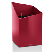 Lechuza LECHUZA - Pflanzgefäß CURSIVO PREMIUM 30  scarlet rot hochglanz ALL-IN-ONE Set