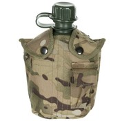 MFH Outdoor US Army kunststof veldfles, 1 liter, hoes, Operation-camouflage, BPA-vrij