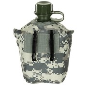 MFH MFH - US Plastikfeldflasche -  1 l -  Hülle -  AT-digital -  BPA-frei