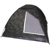 "MFH MFH - Tent  -  ""Monodom""  -  3 personen  -  Woodland Vlekkencamouflage"