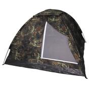 """MFH Outdoor MFH - Tent  -  """"Monodom""""  -  Vlekken camouflage  -  3 persoons"""