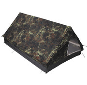 "MFH Outdoor MFH - Tent  -  ""Minipack""  -  Vlekken camouflage  -  2 persoons"