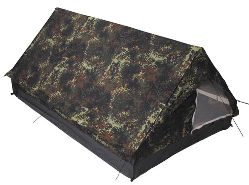 "MFH Outdoor MFH - Tent  -  ""Minipack""  -  Vlekken camouflage  -  2 persoons"